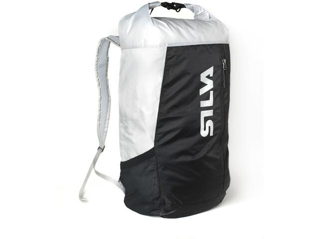 Silva Waterproof Backpack 23l, negro/blanco